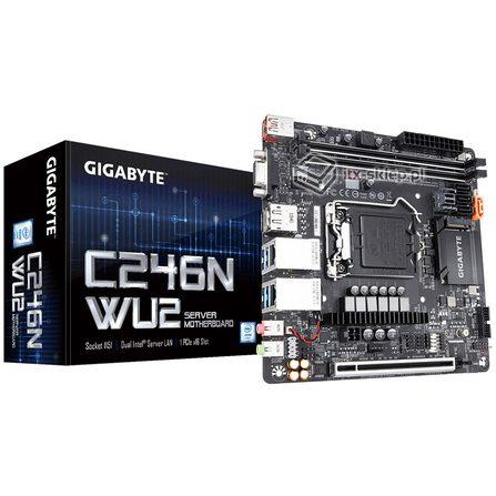 Gigabyte C246N-WU2 Intel Xeon LGA1151 DDR4 ECC 2xLAN 8xSATA USB 3.1